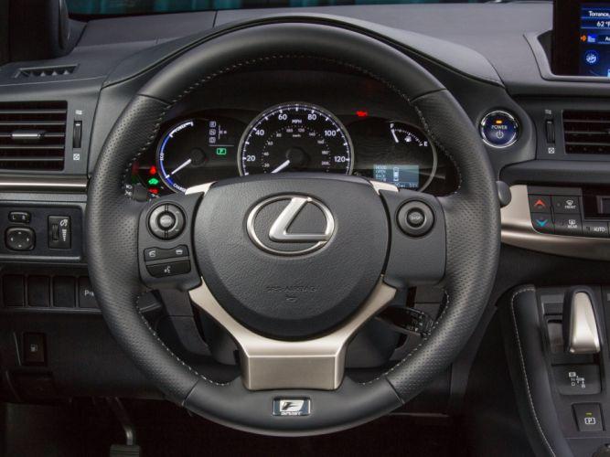 2014 Lexus C-T 200h F-Sport interior g wallpaper