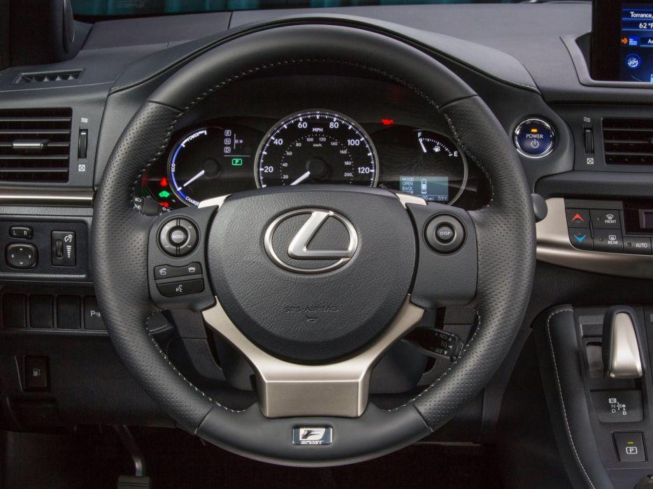 Lexus Ct F Sport >> 2014 Lexus C T 200h F Sport Interior G Wallpaper 2048x1536