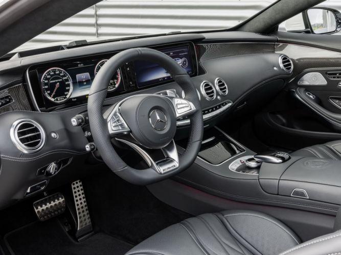2014 Mercedes Benz S63 AMG Coupe (C217) interior g wallpaper