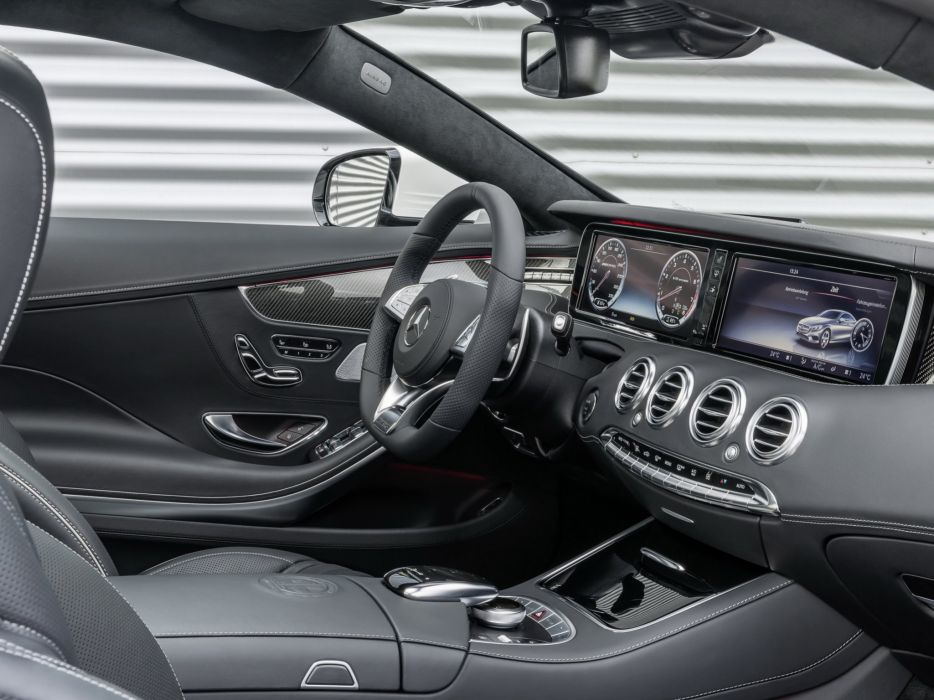 2014 Mercedes Benz S63 AMG Coupe (C217) interior    g wallpaper
