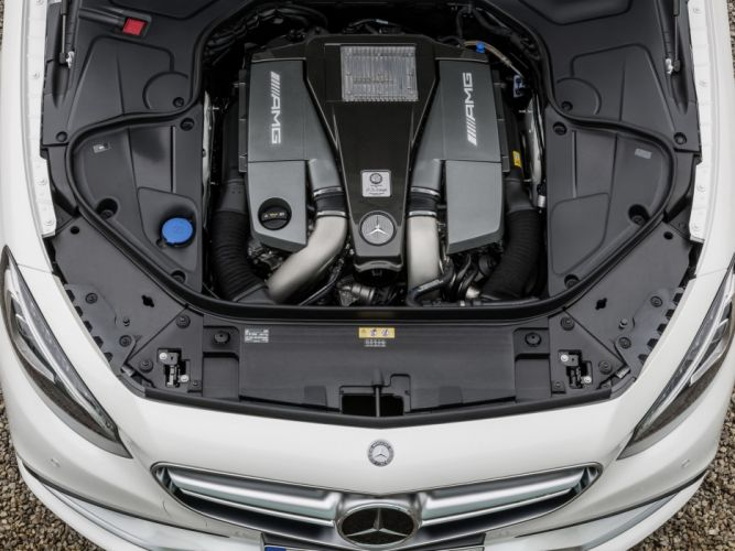 2014 Mercedes Benz S63 AMG Coupe (C217) engine g wallpaper