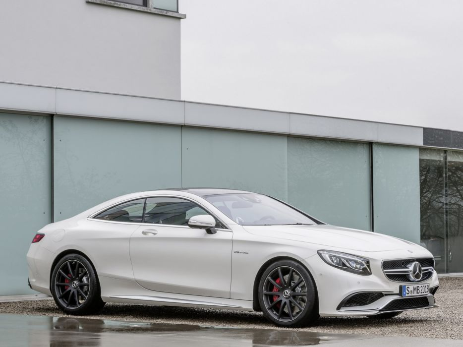 2014 Mercedes Benz S63 AMG Coupe (C217) e wallpaper