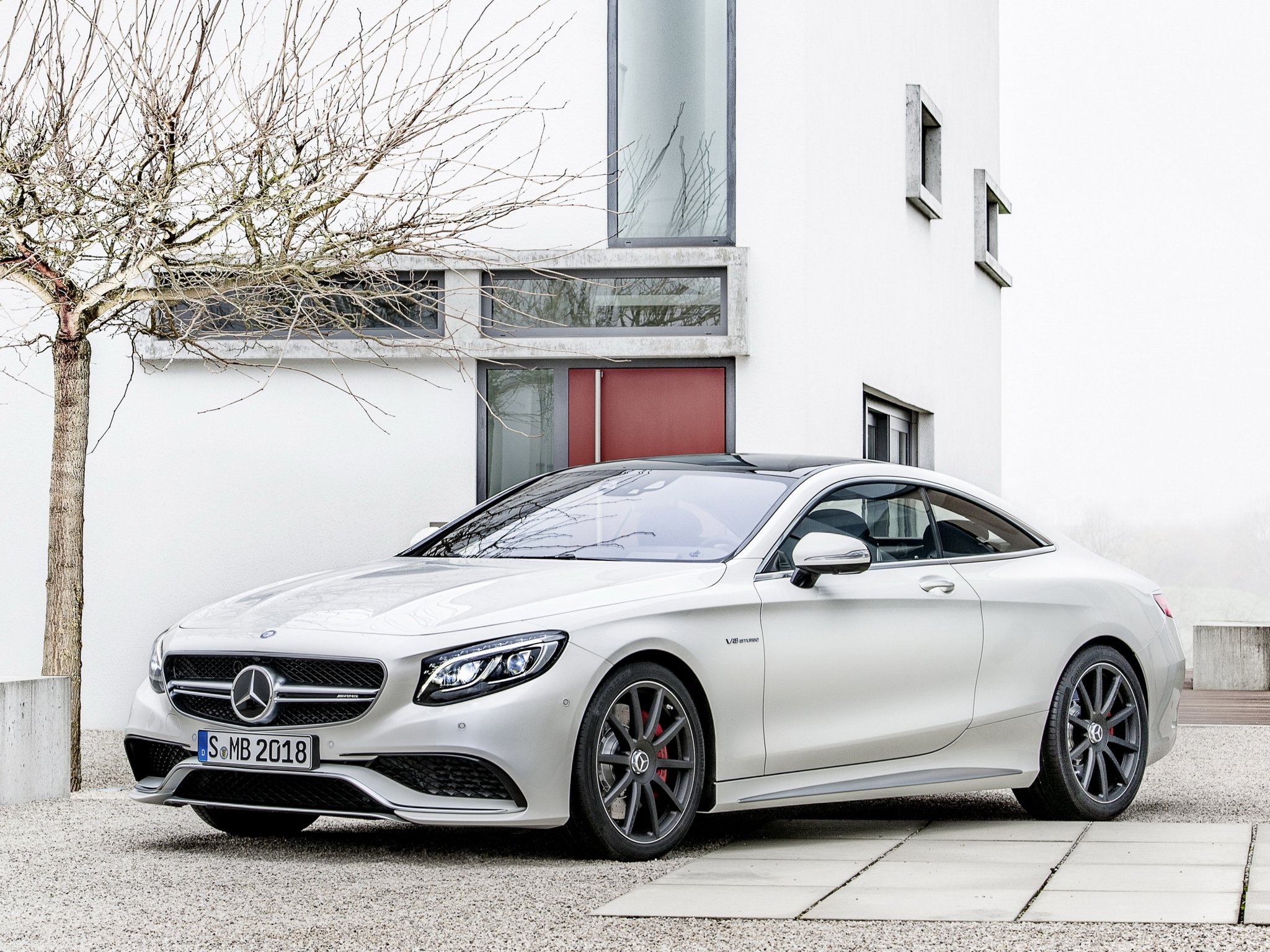 S 63 Amg Wallpaper: 2014 Mercedes Benz S63 AMG Coupe (C217) H Wallpaper