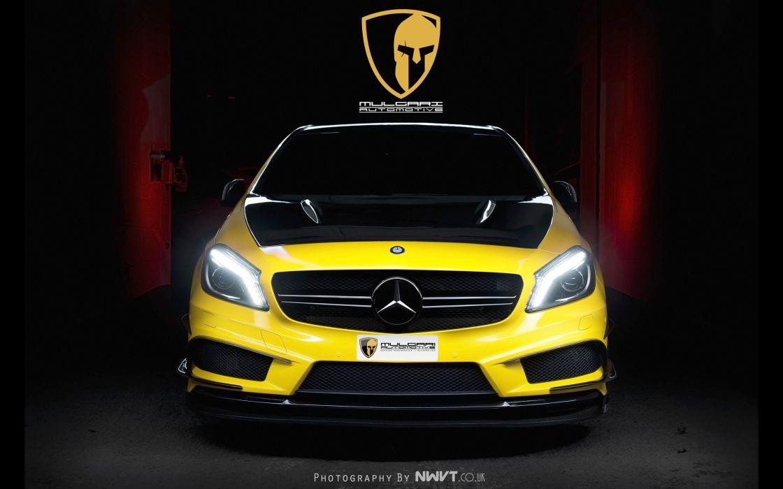2014 Mulgari Mercedes Benz Project-45 tuning project 4-5 a45   f wallpaper