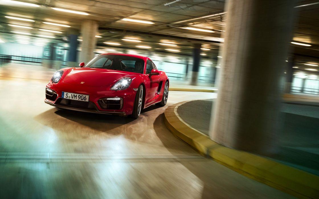 2014 Porsche Cayman GTS (981C)  td wallpaper