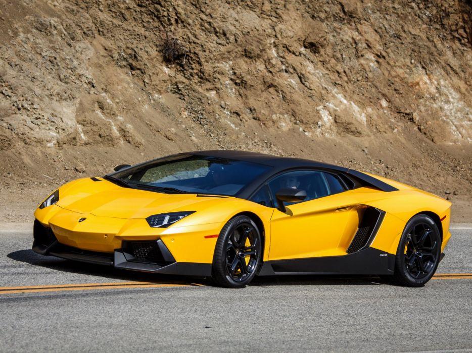 2011 Lamborghini Aventador LP700-4 US-spec supercar   gd wallpaper