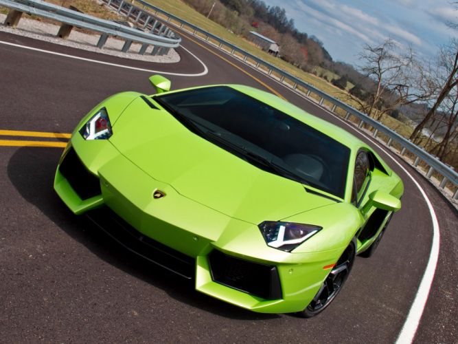 2011 Lamborghini Aventador LP700-4 US-spec supercar h wallpaper