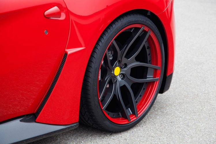 2013 Novitec Rosso N-Largo Ferarri F12 Berlinetta Widebody supercar tuning wheel hf wallpaper