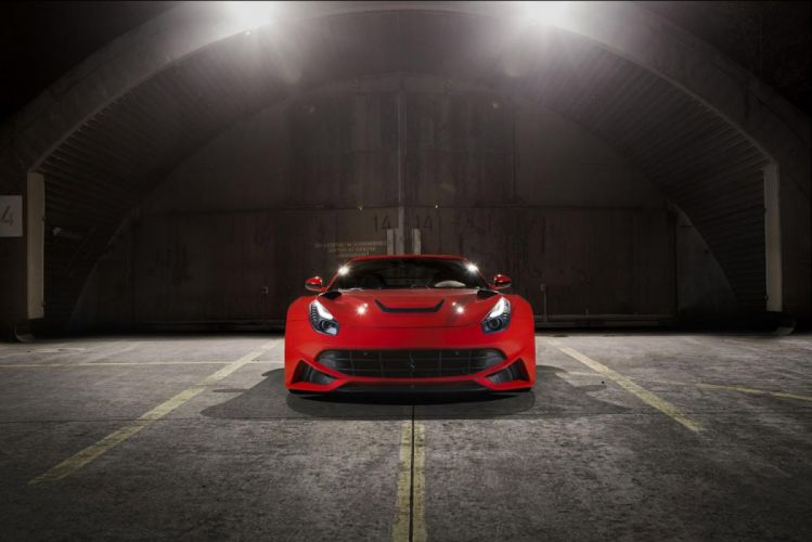 2013 Novitec Rosso N-Largo Ferarri F12 Berlinetta Widebody supercar tuning y wallpaper