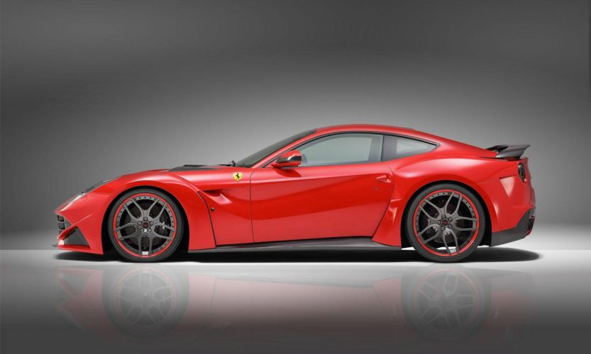 2013 Novitec Rosso N-Largo Ferarri F12 Berlinetta Widebody supercar tuning h wallpaper