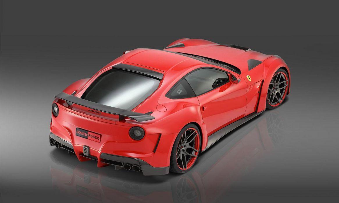 2013 Novitec Rosso N-Largo Ferarri F12 Berlinetta Widebody supercar tuning    hf wallpaper