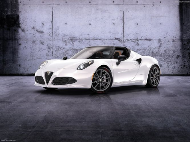 Alfa Romeo-4C Spider Concept 2014 1600x1200 wallpaper 01 wallpaper