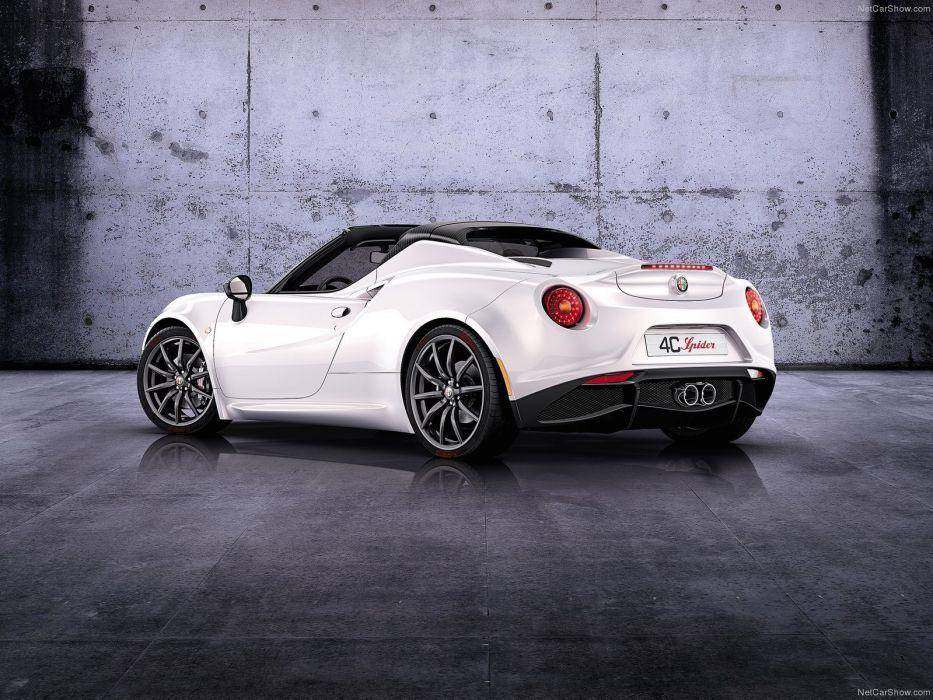 Alfa Romeo-4C Spider Concept 2014 1600x1200 wallpaper 04 wallpaper