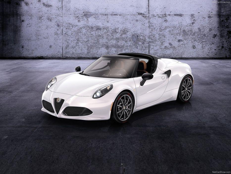 Alfa Romeo-4C Spider Concept 2014 1600x1200 wallpaper 02 wallpaper