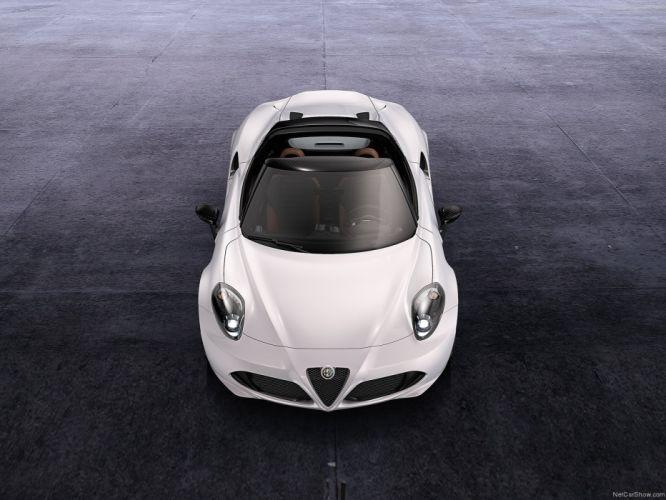 Alfa Romeo-4C Spider Concept 2014 1600x1200 wallpaper 05 wallpaper
