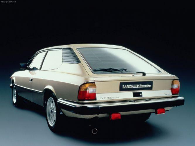 Lancia-Beta HP Executive 1981 1600x1200 wallpaper 03 wallpaper