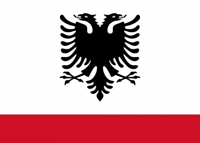 2000px-Naval Ensign of Albania_svg wallpaper