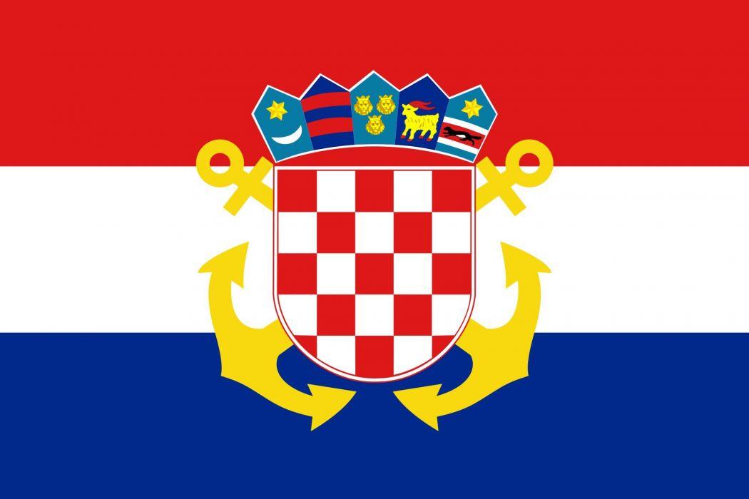2000px-Naval Ensign of Croatia_svg wallpaper