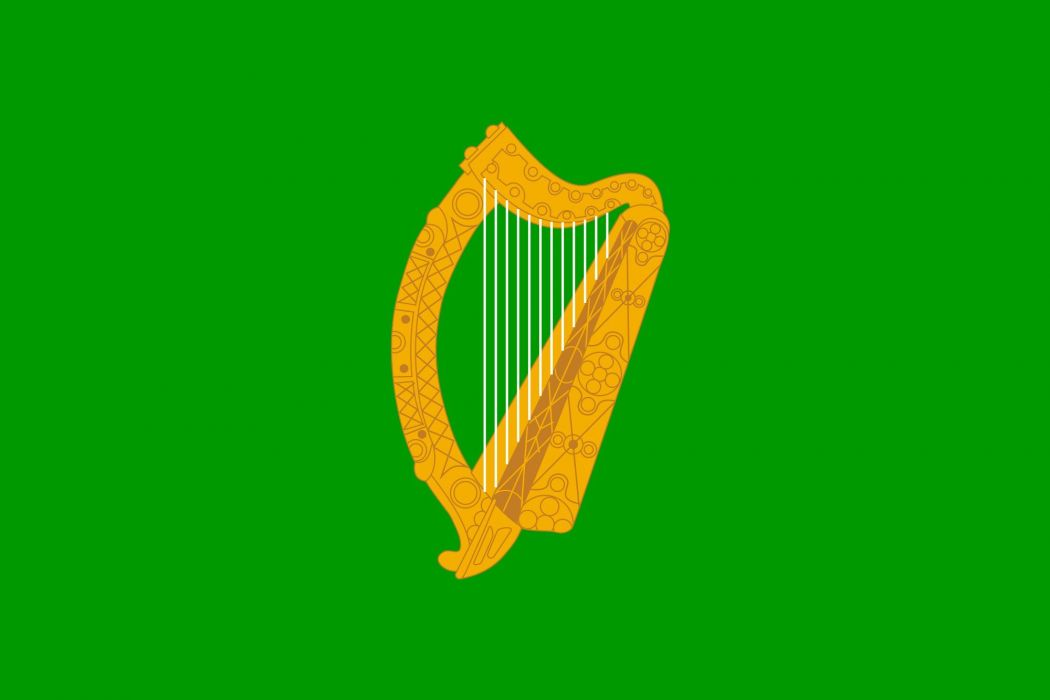 2000px-Naval Jack of Ireland_svg wallpaper