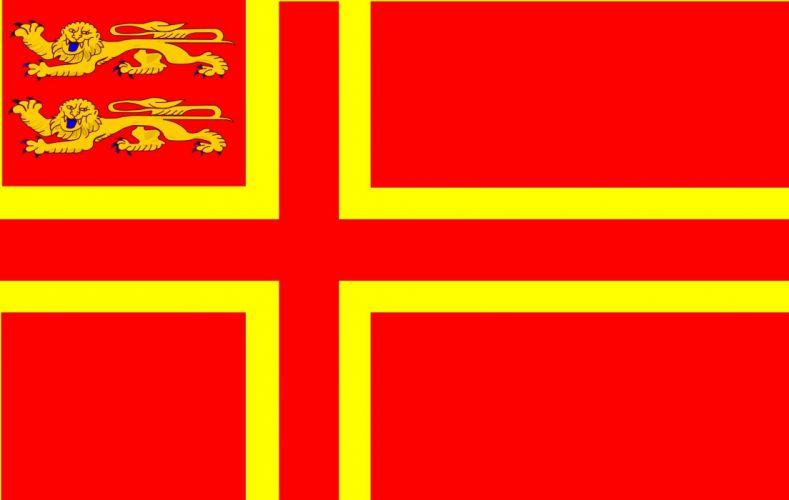 2000px-Normandy flag falaise_svg wallpaper