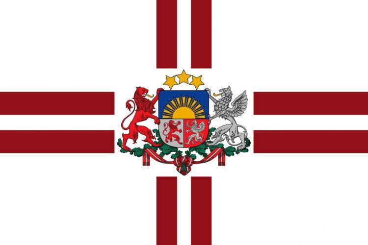 2000px-Presidential Flag of Latvia_svg wallpaper