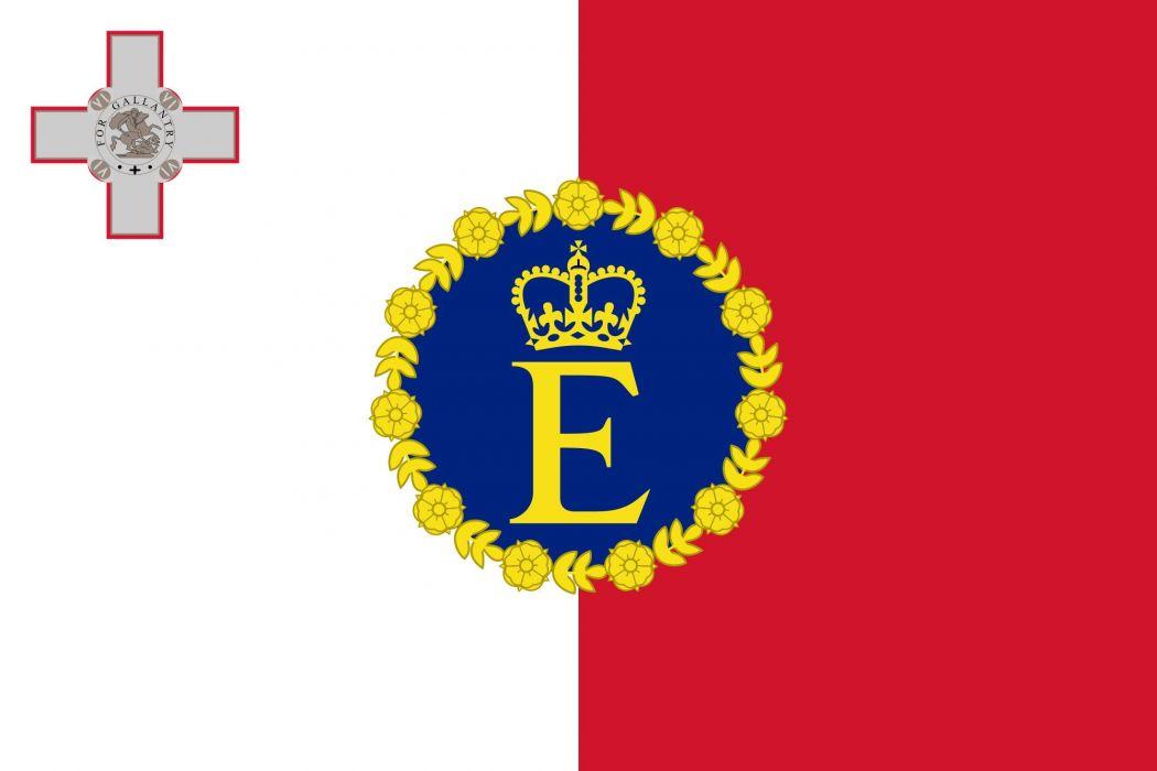 2000px-Royal Standard of Malta (1964)_svg wallpaper