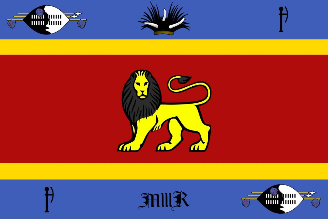 2000px-Royal standard of Swaziland_svg wallpaper