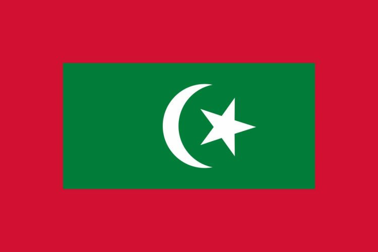 2000px-Presidential standard of the Maldives_svg wallpaper