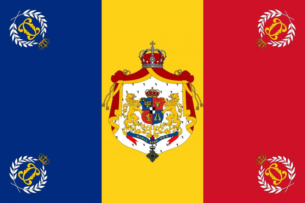2000px Romanian Army Flag 1897 Used Modelsvg Wallpaper