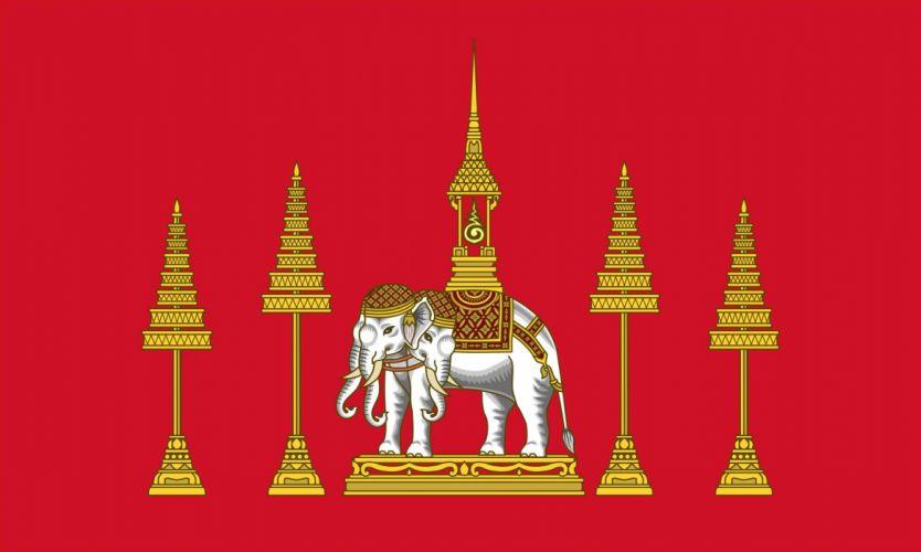 2000px-Siamese Royal Standard (absent) (Rama IV)_svg wallpaper