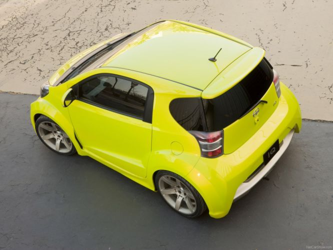 Scion-iQ Concept 2009 1600x1200 wallpaper 1d wallpaper