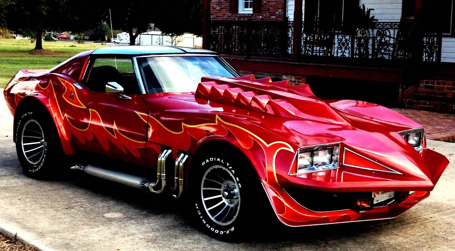 1978 Chevrolet Corvette Stingray Roadster Corvette-Summer (C3) movie film concept supercar ...