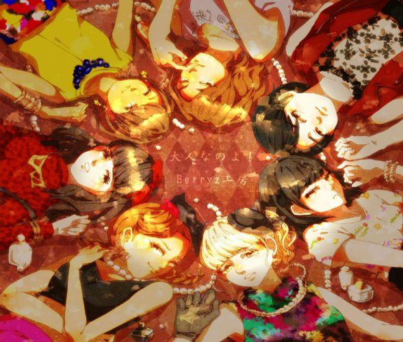 Berryz Koubou original f wallpaper