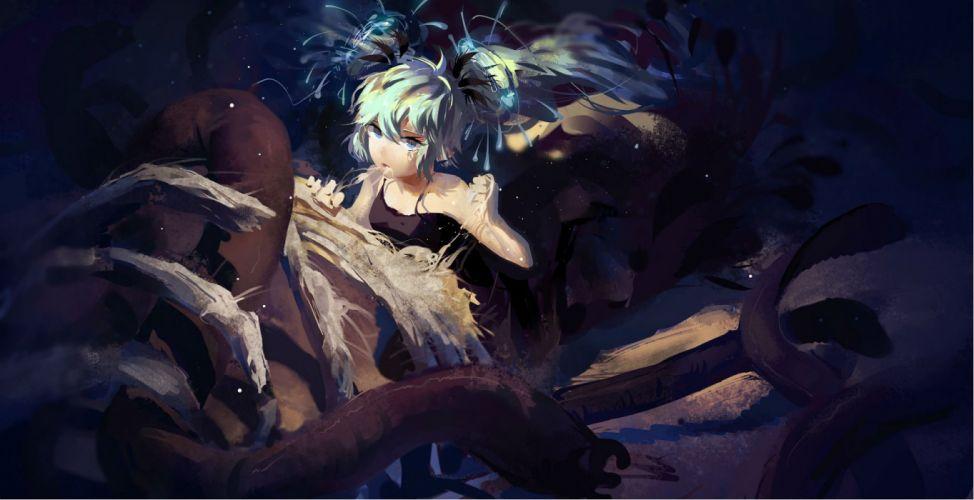 deep-sea girl (vocaloid) hatsune miku nviek5 vocaloid wallpaper