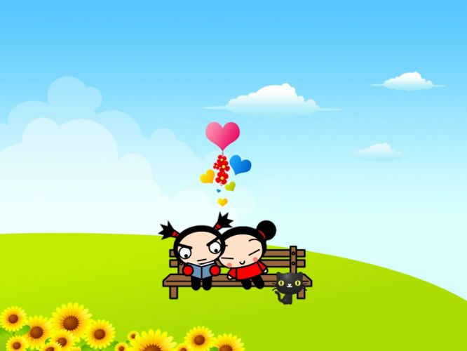 love anime Pucca wallpaper