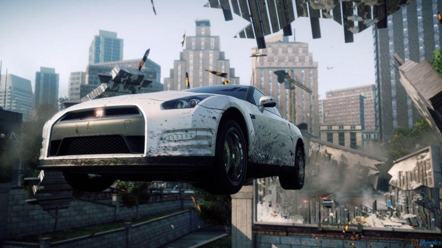 video games Need for Speed Need for Speed Most Wanted nissan gtr35 wallpaper