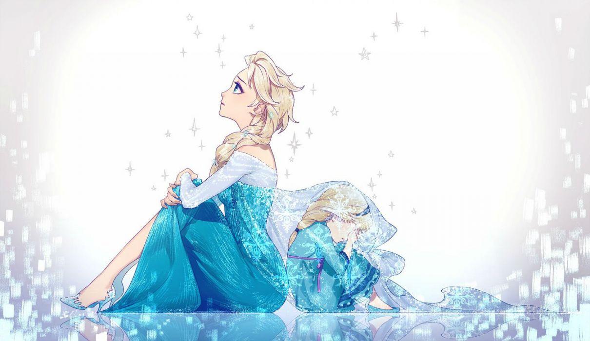 elsa (frozen) frozen (disney) tayuya1130 wallpaper