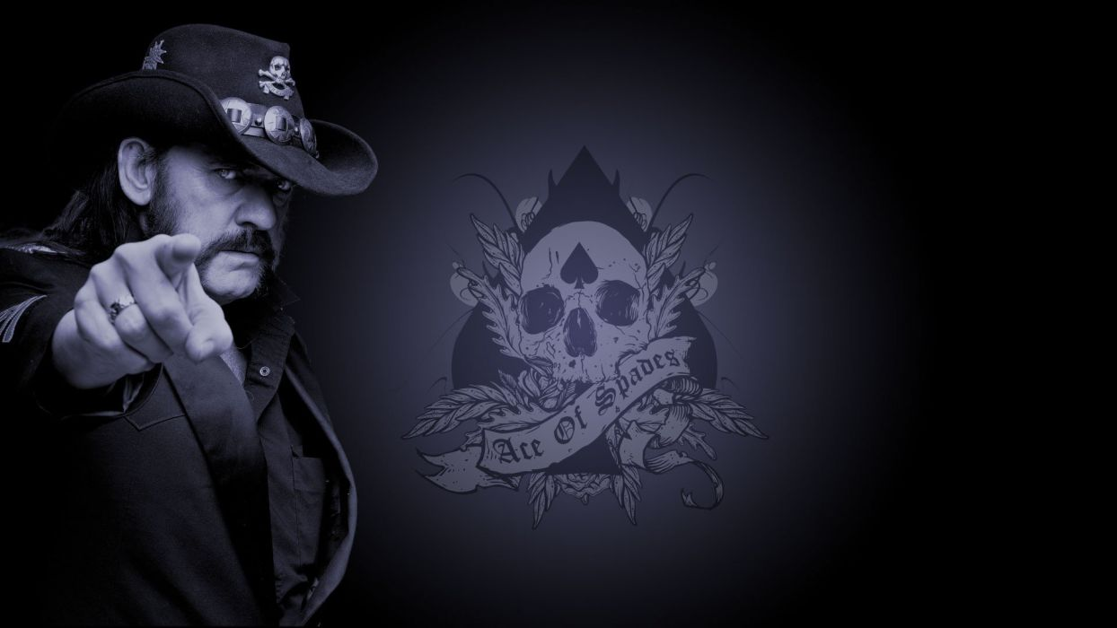 skulls Motorhead ace of spades Lemmy Killmister wallpaper