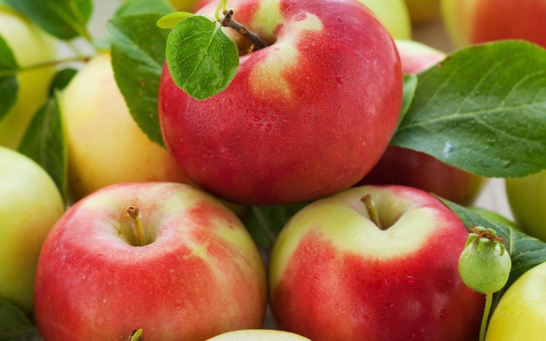fruits apples wallpaper