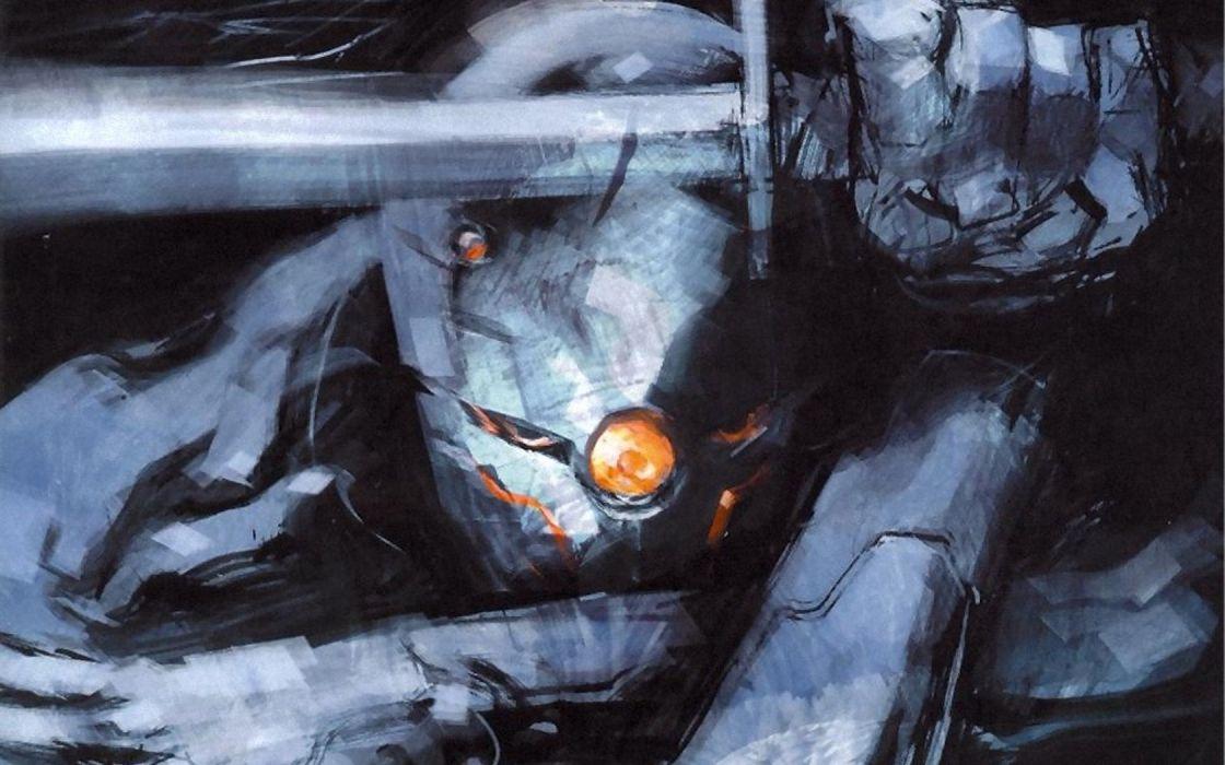 video games Metal Gear Solid artwork Gray Fox wallpaper