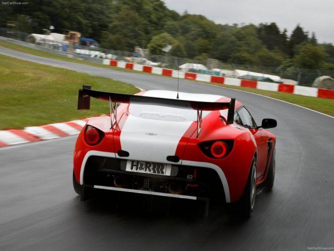 cars Aston Martin Zagato races Aston Martin V12 Zagato V12 racing cars wallpaper