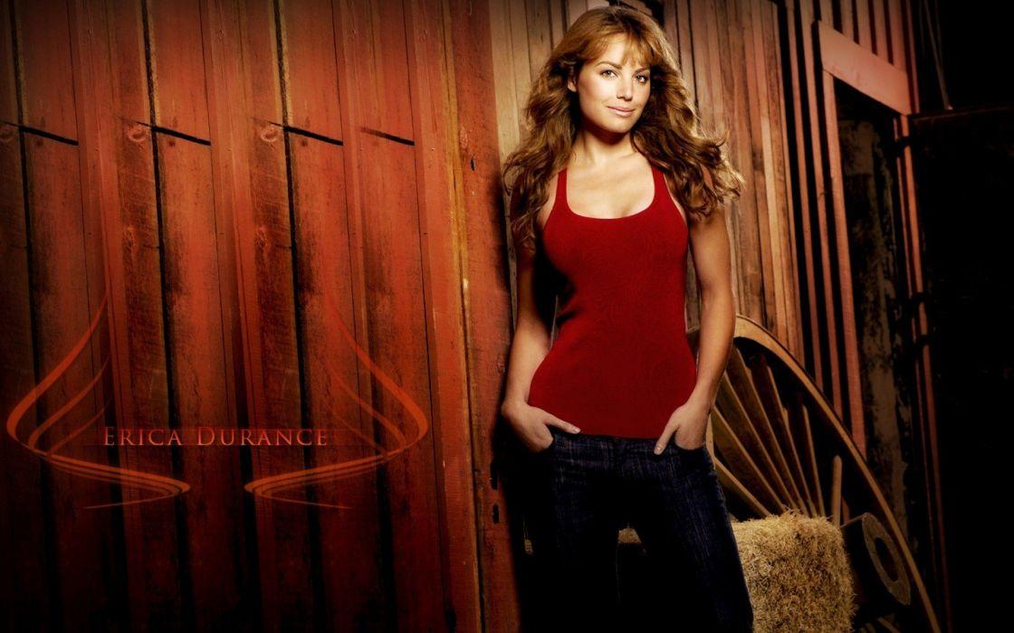 women actress models Erica Durance wallpaper