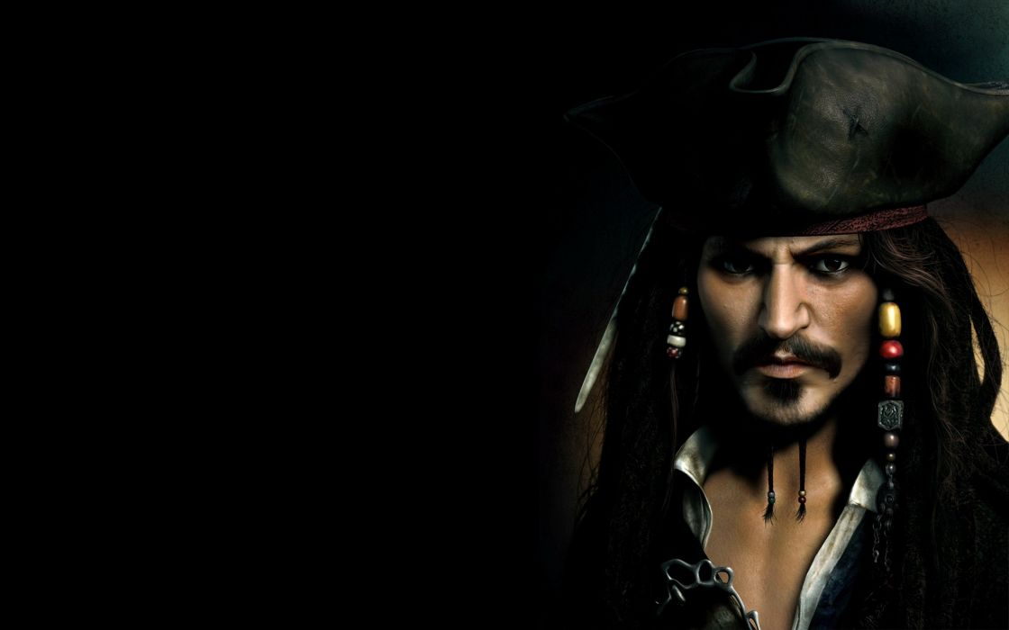 Pirates of the Caribbean Johnny Depp Captain Jack Sparrow wallpaper