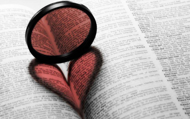 lens books hearts wallpaper
