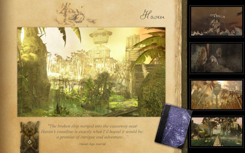 video games myst haven revelations wallpaper