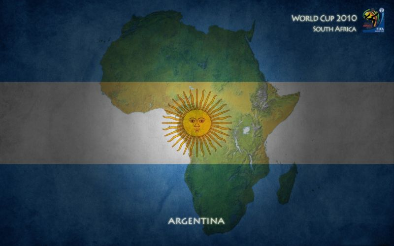 Argentina flags World Cup wallpaper