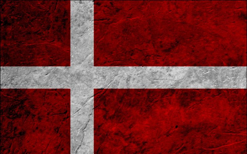 flags Denmark wallpaper