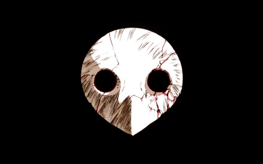 Neon Genesis Evangelion masks wallpaper