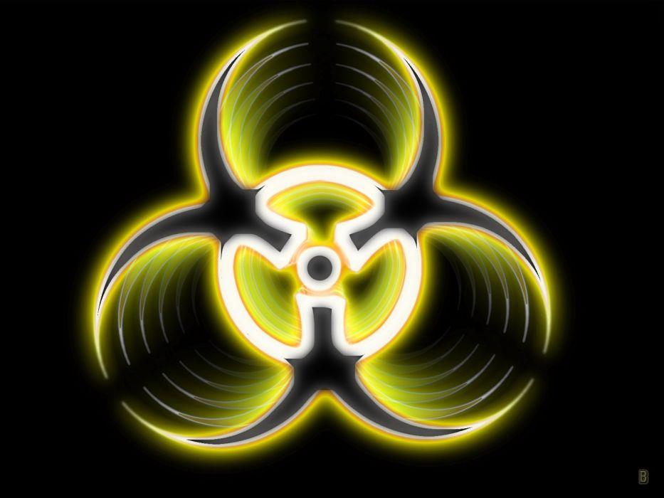 biohazard simple background black background wallpaper