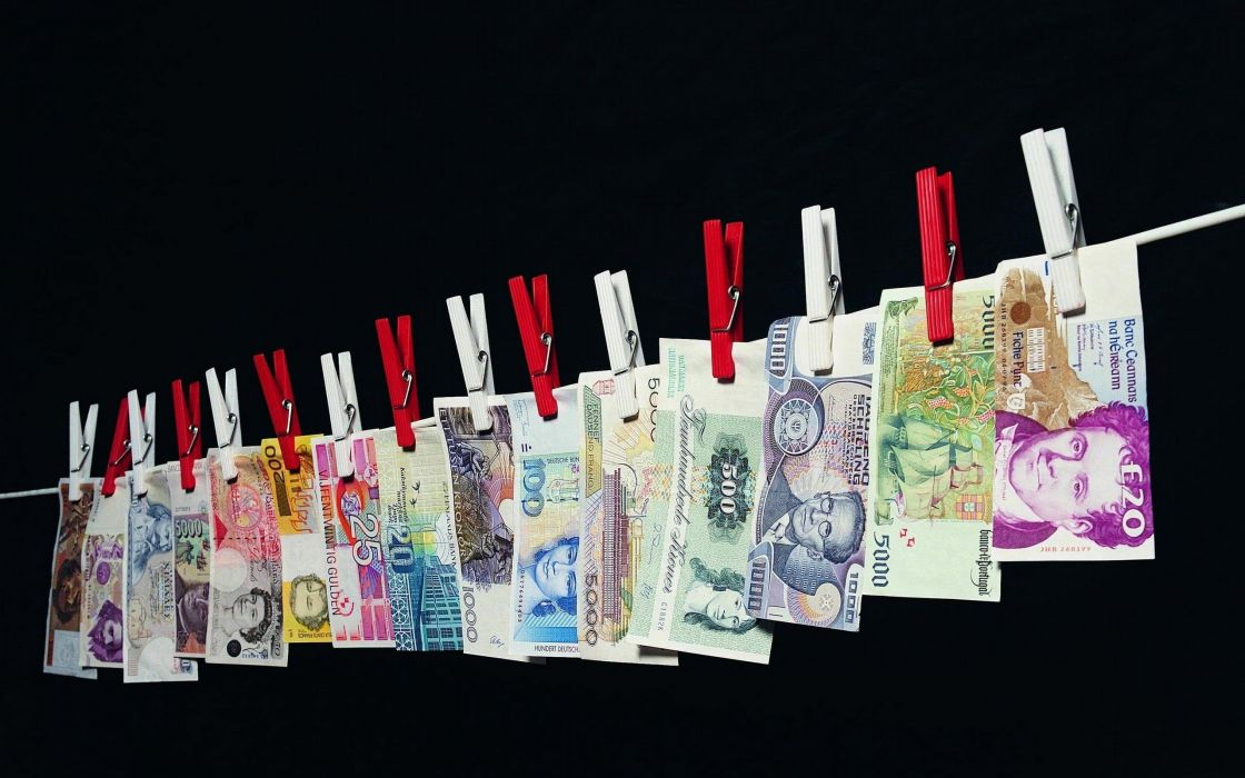 money clothespin wallpaper